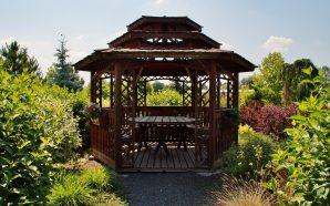 Idealne materiały na altankę ogrodową