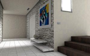 Wnętrza z betonem